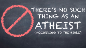 There is No Such Thing as an atheist
